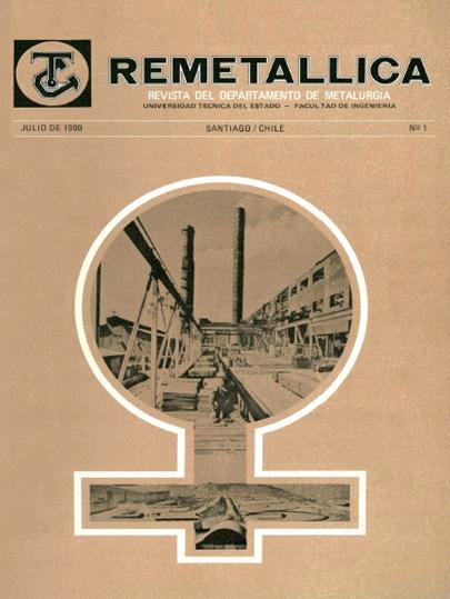Revistas de Ingeniería Metalúrgica, Universidad de Santiago de Chile, Edtor Oscar Bustos Castillo, Alamedad Bdo. O'Higgins 3363